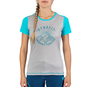 Dynafit Transalper Light Kurzarm T-Shirt Damen silvretta